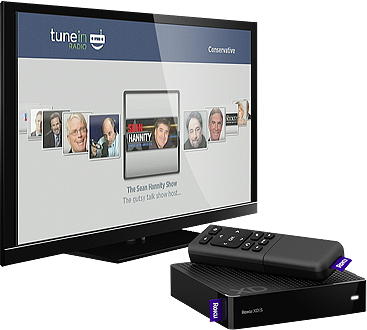 Roku TuneIn Channel